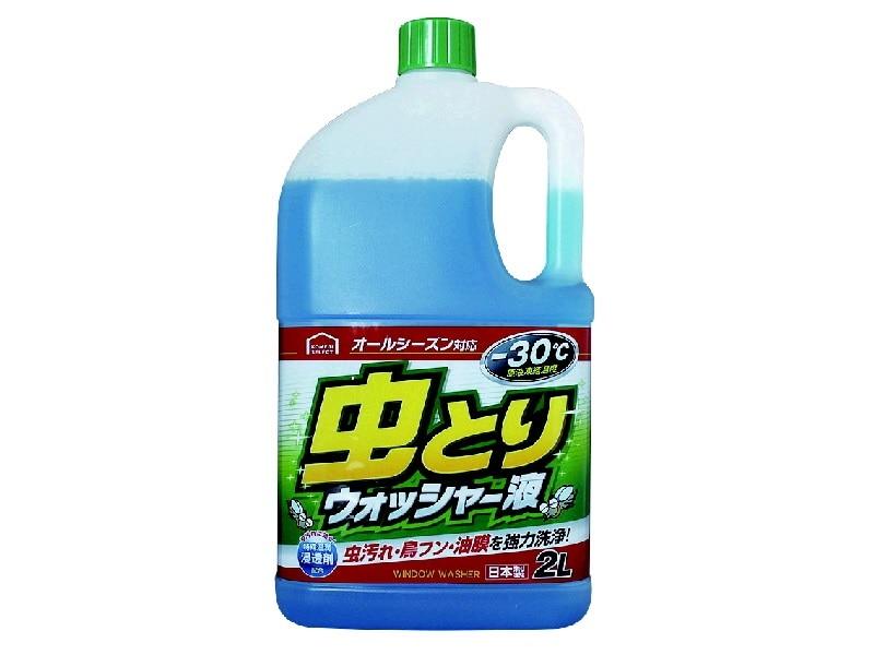 コメリセレクト 虫取りウォッシャー液 -30℃ 2L