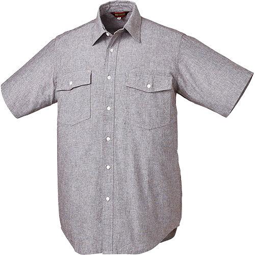 ダンガリーシャツ 25874 ブラック 各サイズ