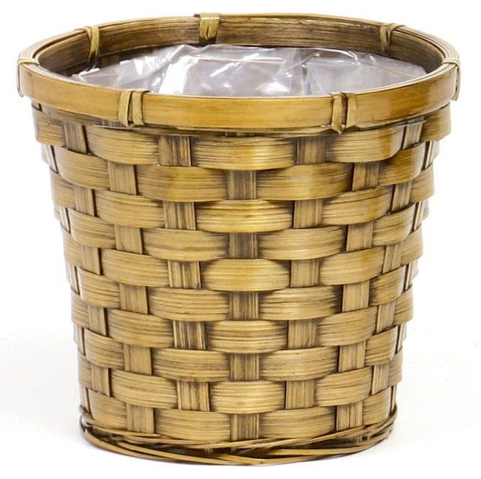 バンブー鉢カバー駄鉢用  5号 203-500