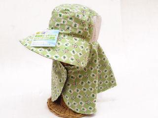防虫加工UVカットリバーシブル農帽 FWH-204