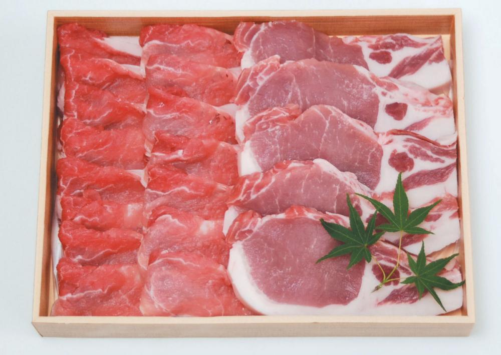 上富良野地養豚ロースセット【北海道千歳市加工】