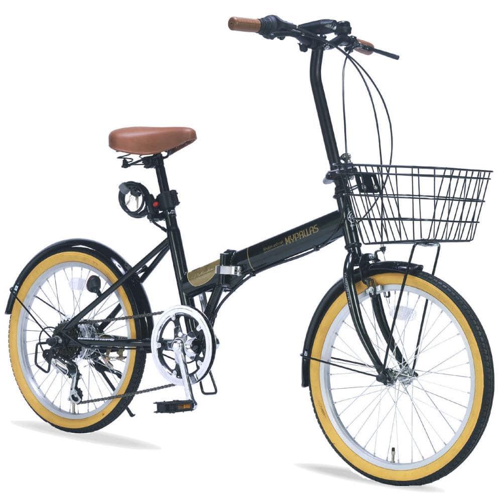 折畳自転車20・6段ギア・オールインワン M 252 新緑のグリーン