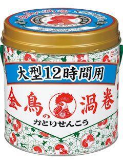 金鳥の渦巻 大型12時間用 40巻缶入