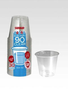 サンナップ 使い捨てコップ ミニミニ クリアーカップ 90ml 30個入り