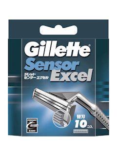 P&G ジレット カミソリ センサーエクセル  替刃10個入