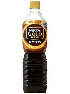 ネスカフェ ゴールドブレンド コク深めボトル 甘さひかえめ 900ml