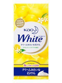 花王 石鹸 ホワイト リフレッシュシトラス レギュラー 6コ