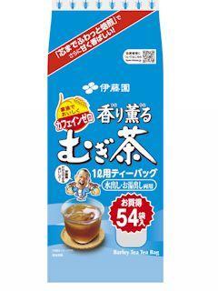 伊藤園 香り薫るむぎ茶 ティーバッグ 54袋入