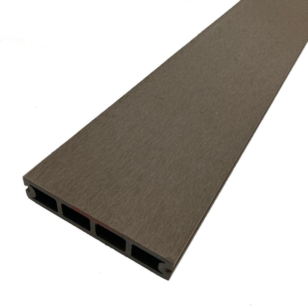 人工木デッキ材床板 ダークブラウン 145×30×1800mm