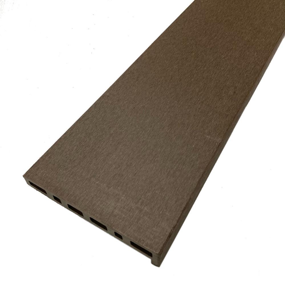 人工木デッキ材幕板 ダークブラウン 145×30×1790mm