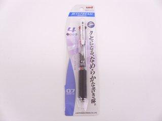 三菱 ボールペン ジェットストリーム 4 0.7 透明