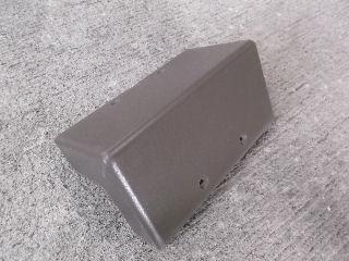 人工木デッキ用幕板コーナーキャップ