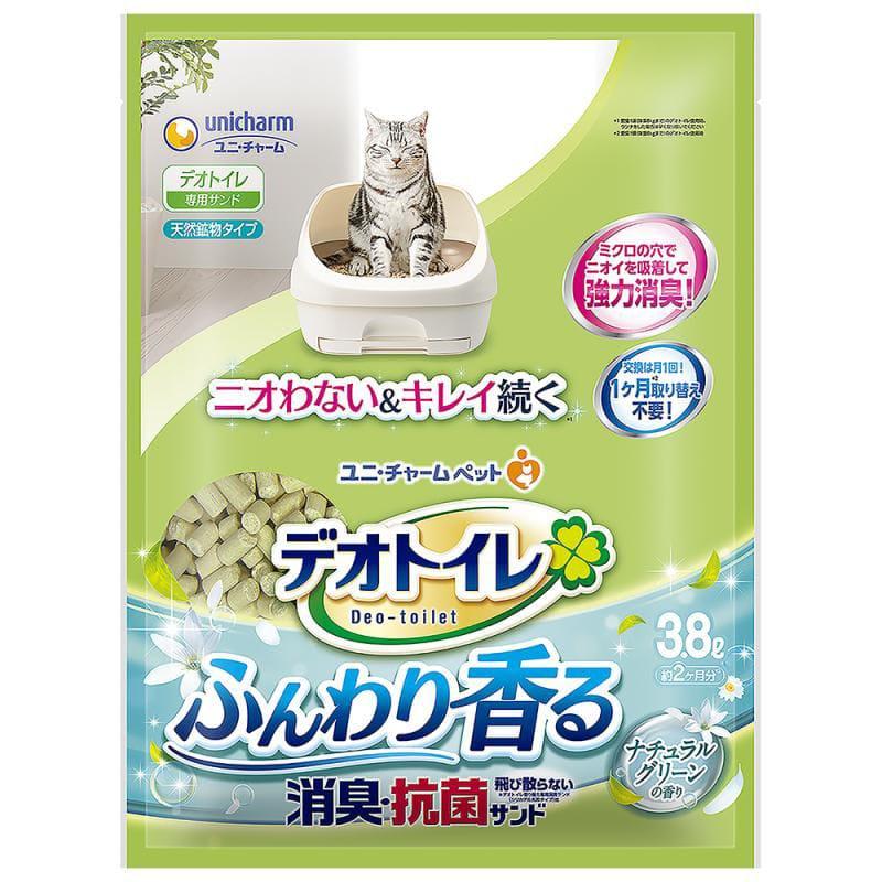 ユニ・チャーム デオトイレ ふんわり香る消臭・抗菌サンド 3.8L