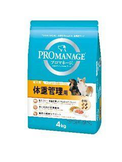 マーズジャパン プロマネージ 成犬用 体重管理用 4kg