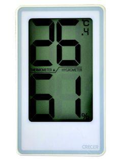 デジタル温湿度計でか文字 CR-2000W
