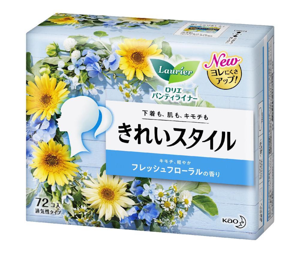花王 ロリエ きれいスタイル フレッシュフローラル 72コ