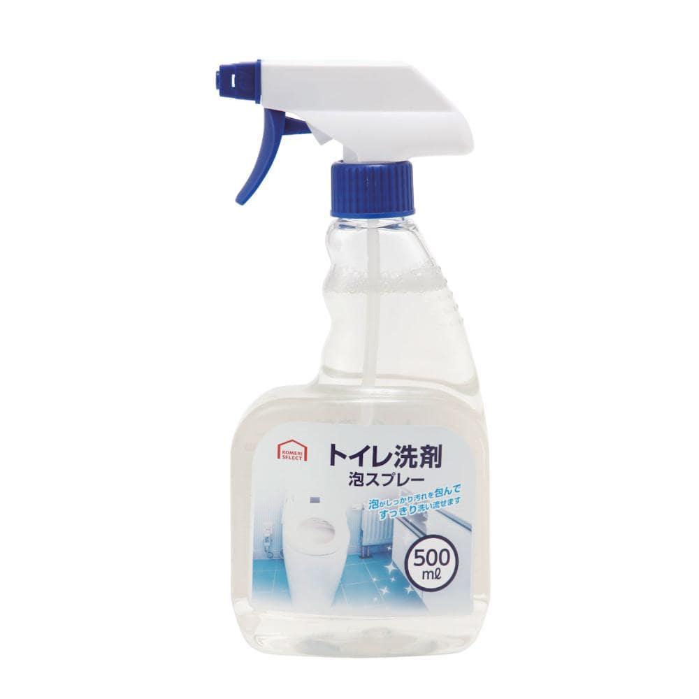コメリセレクト トイレ用洗剤 泡スプレー 本体 500ml