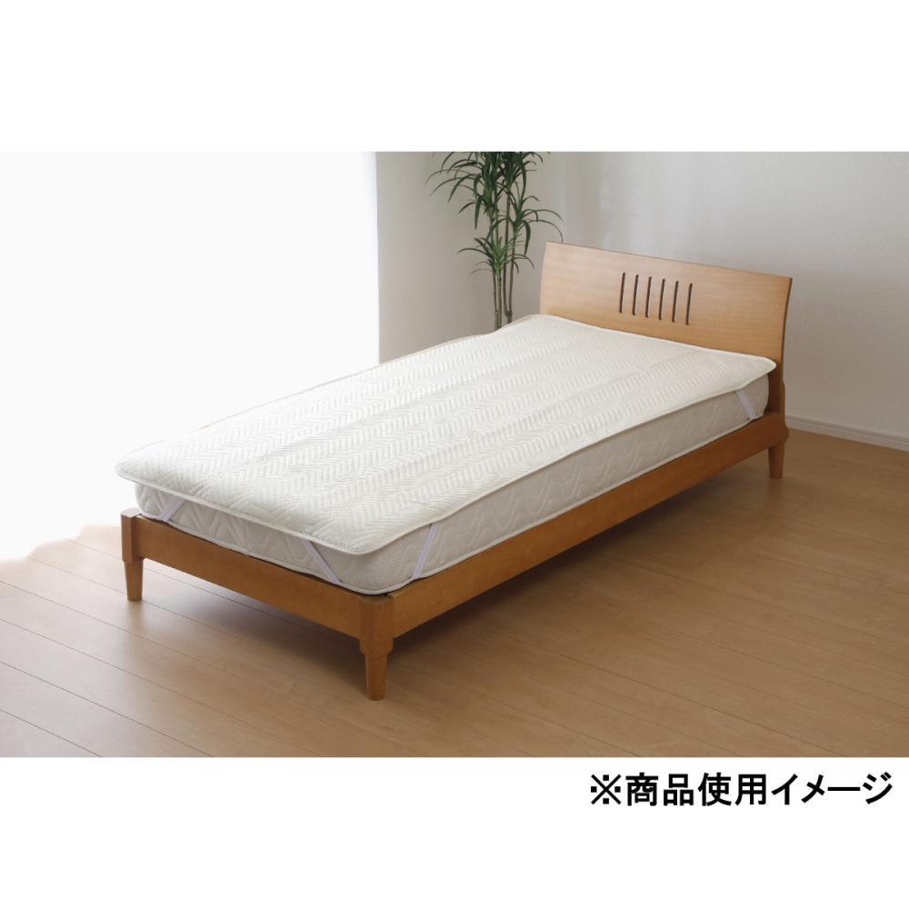 防水吸水速乾 消臭 ベッドパッド シングル