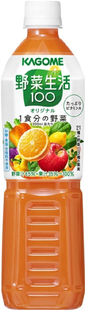 カゴメ 野菜生活 オリジナル スマートPET 720ml