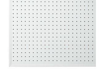 パンチングボード 白 450×600