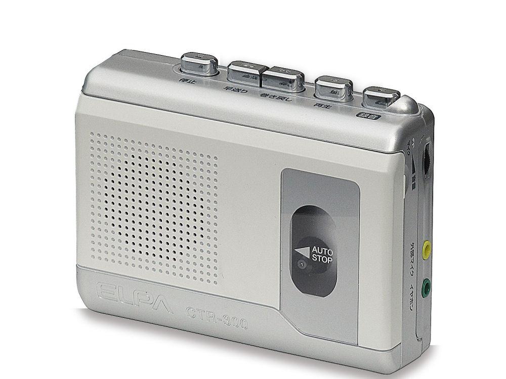 ELPA カセットテープ レコーダーCTR-300