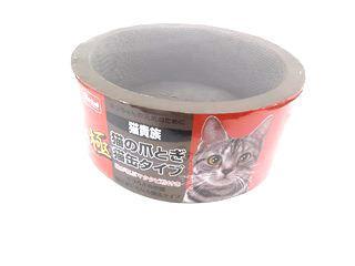 猫の爪とぎ 猫缶タイプ極