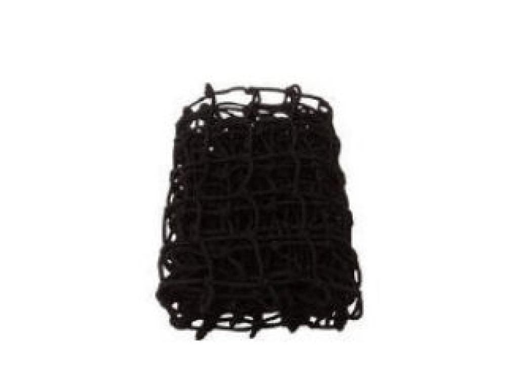 カラーゴムネット ブラック 約120×100cm