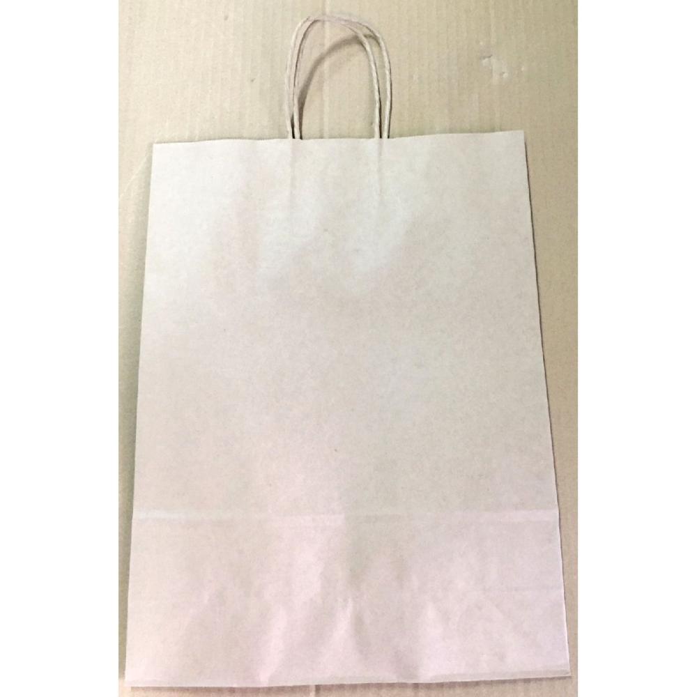 手提げ紙袋 茶 CHBT-2-1