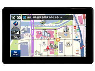 <コメリドットコム> ユピテル ポータブルナビ YPF7510 <自動車用品 カーナビ・テレビ>