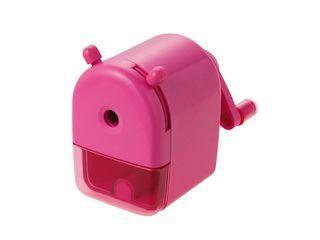 クツワ ミニ卓上鉛筆削り ピンク
