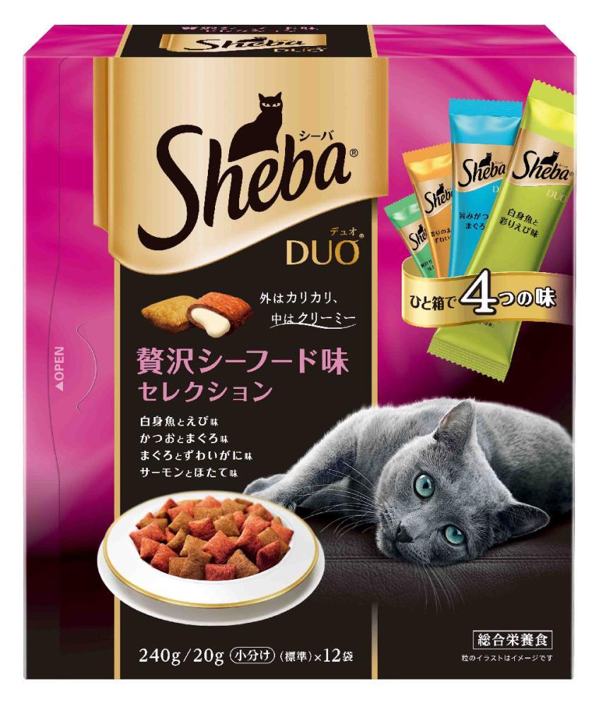 マースジャパン シーバデュオ 贅沢シーフード味セレクション 240g