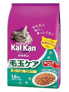 マースジャパン カルカンドライ 毛玉ケア かつおとチキン味 1.6kg