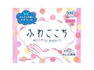 ユニチャーム ソフィ ふわごこち ピンクローズの香り 38枚入×2個パック