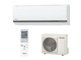 <コメリドットコム> パナソニック GXシリーズ冷暖エアコン ホワイト 18畳用 CS GX565C2 W <空調系 エアコン>