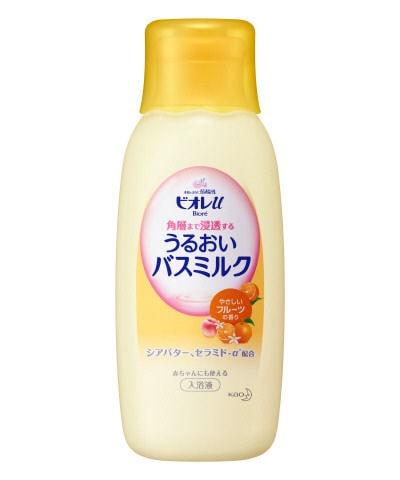 花王 ビオレU 角層まで浸透するバスミルク フルーツ本体
