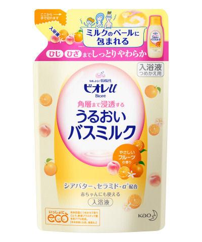 花王 ビオレU 角層まで浸透するバスミルク フルーツ詰替
