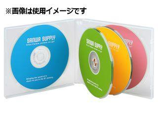 サンワ DVD・CDケース DVD・CDなど計6枚収納 FCD-61CN