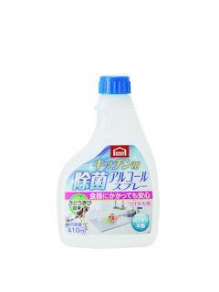 コメリセレクト キッチン用 除菌アルコールスプレー 付替用 410ml
