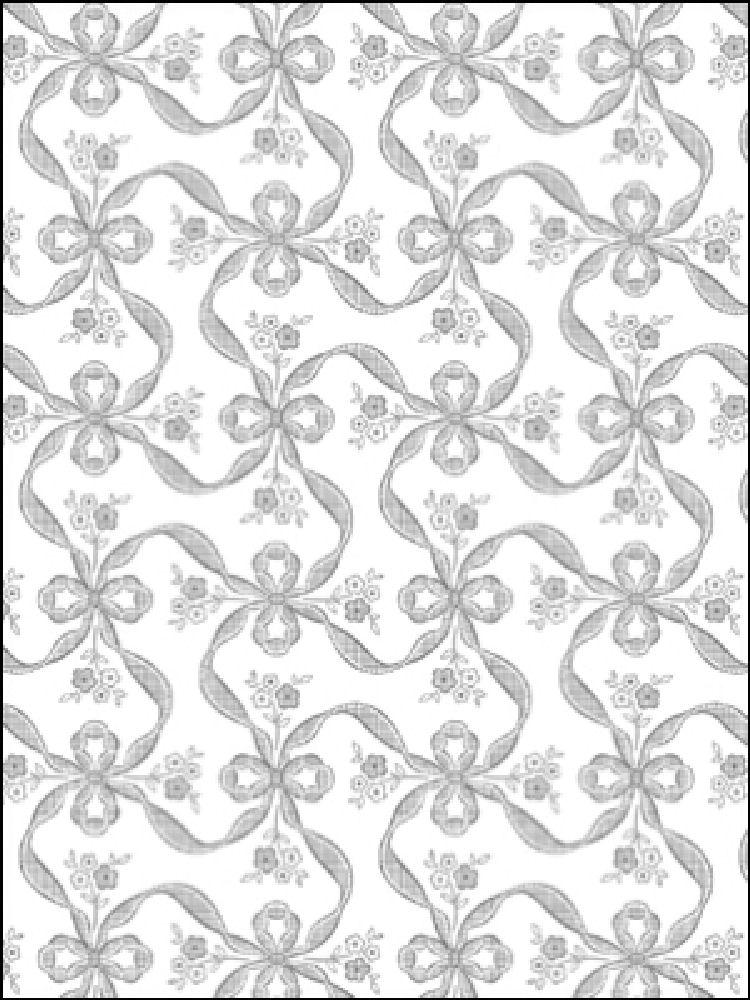 ササガワ 包装紙10枚ロール フラールリボン銀全判 49-8805