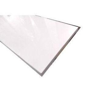 コメリ メラミン化粧板 ホワイト (約)900×350×18mm