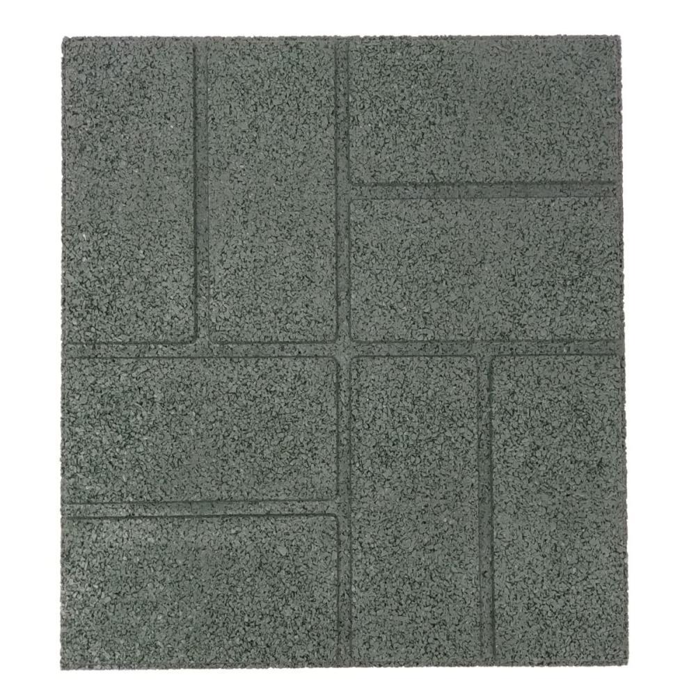 ラバータイル グリーン  45×45×2cm