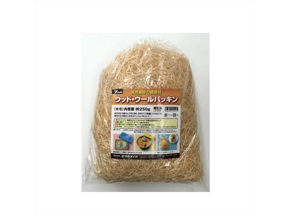 ウッド・ウールパッキン 250g 木毛