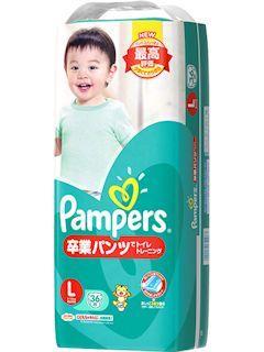 P&G パンパース 卒業パンツでトイレトレーニング Lサイズ 36枚