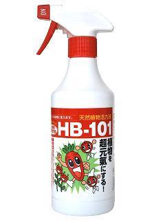 そのまま使えるスプレータイプの HB-101活力液 500cc
