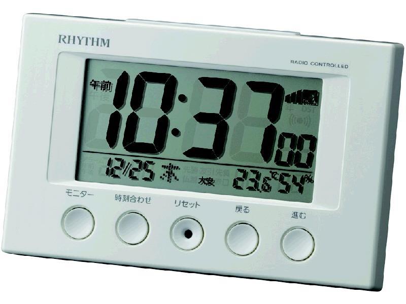 コメリセレクト 電波デジタル目覚し 8RZ166