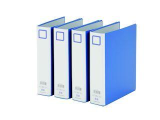 コクヨ チューブファイル A4縦型両開き 4冊セット S2フT8650 4P