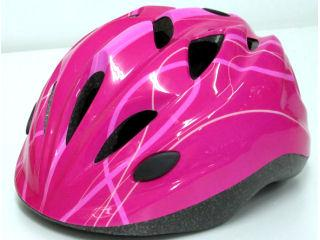 キッズヘルメット M ライン ピンク PI46405