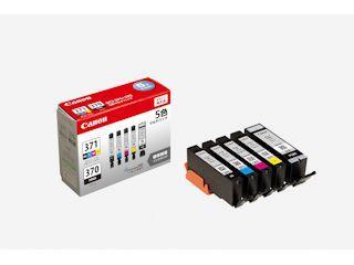 キヤノン 純正インクカートリッジ BCI-371/370 5色パック BCI-371+370/5MP