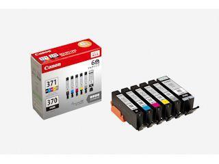 キヤノン 純正インクカートリッジ BCI-371/370 6色パック BCI-371+370/6MP