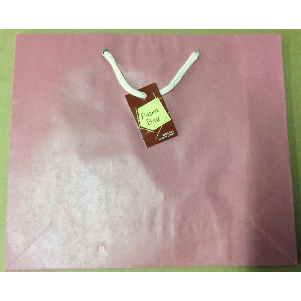 エヒメ紙工 ペーパーバッグ M ピンク